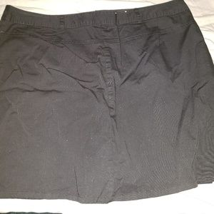 black skort sz18 $10 or 3 pairs of bottoms for $20